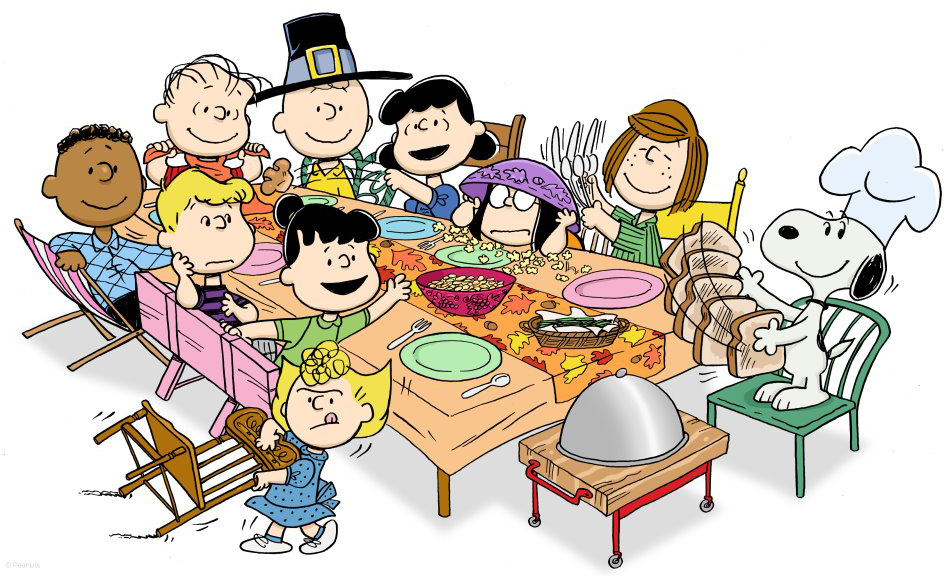 Peanuts Thanksgiving Cover Photo Peanuts thanksgiving dinner 944x576