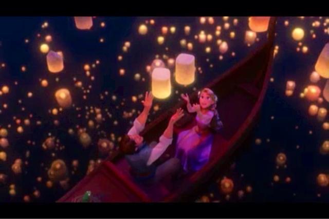 Tangled Wallpaper Lanterns 640x427