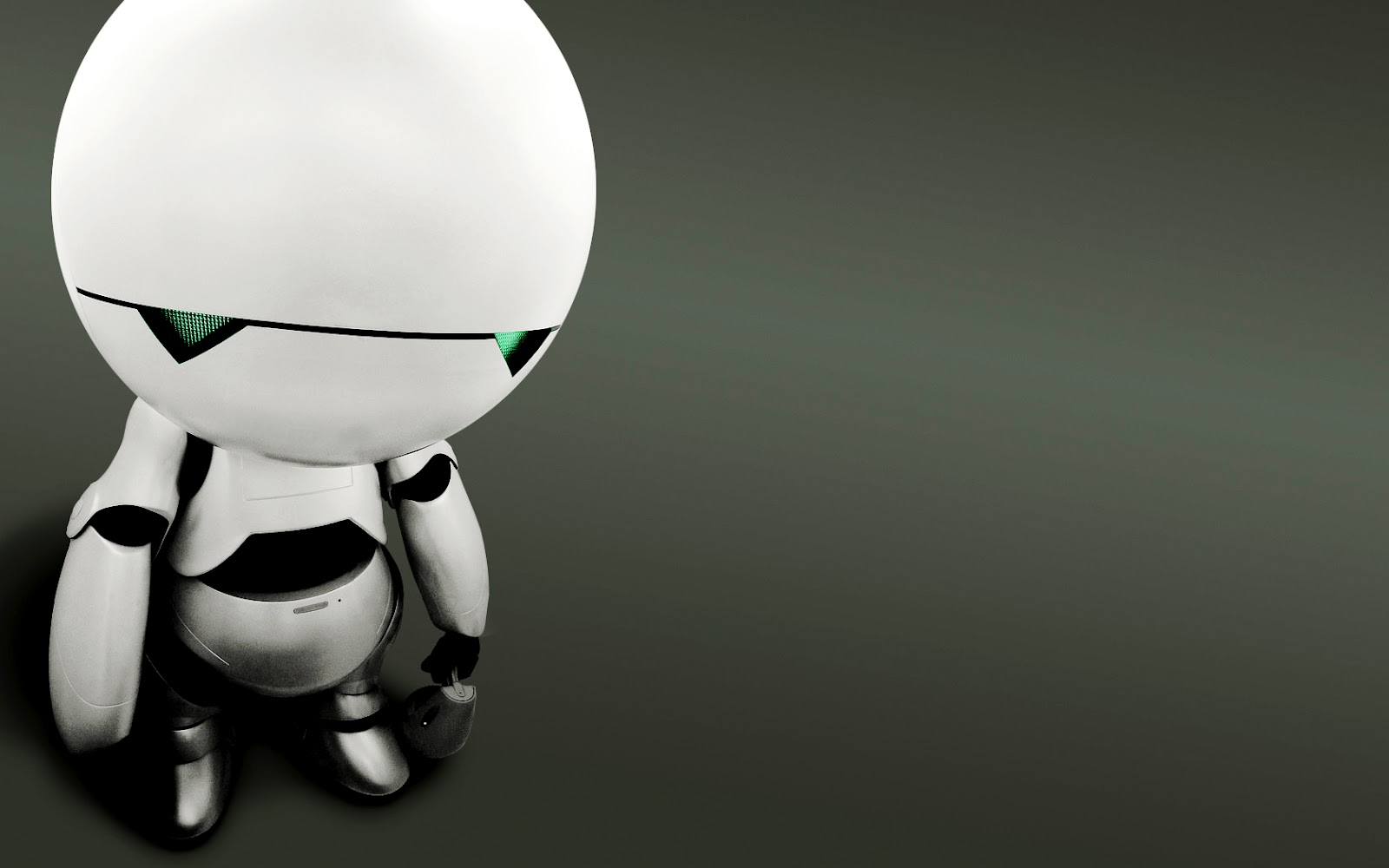 Marvin The Paranoid Android HD Wallpapers HD Wallpapers Backgrounds 1600x1000