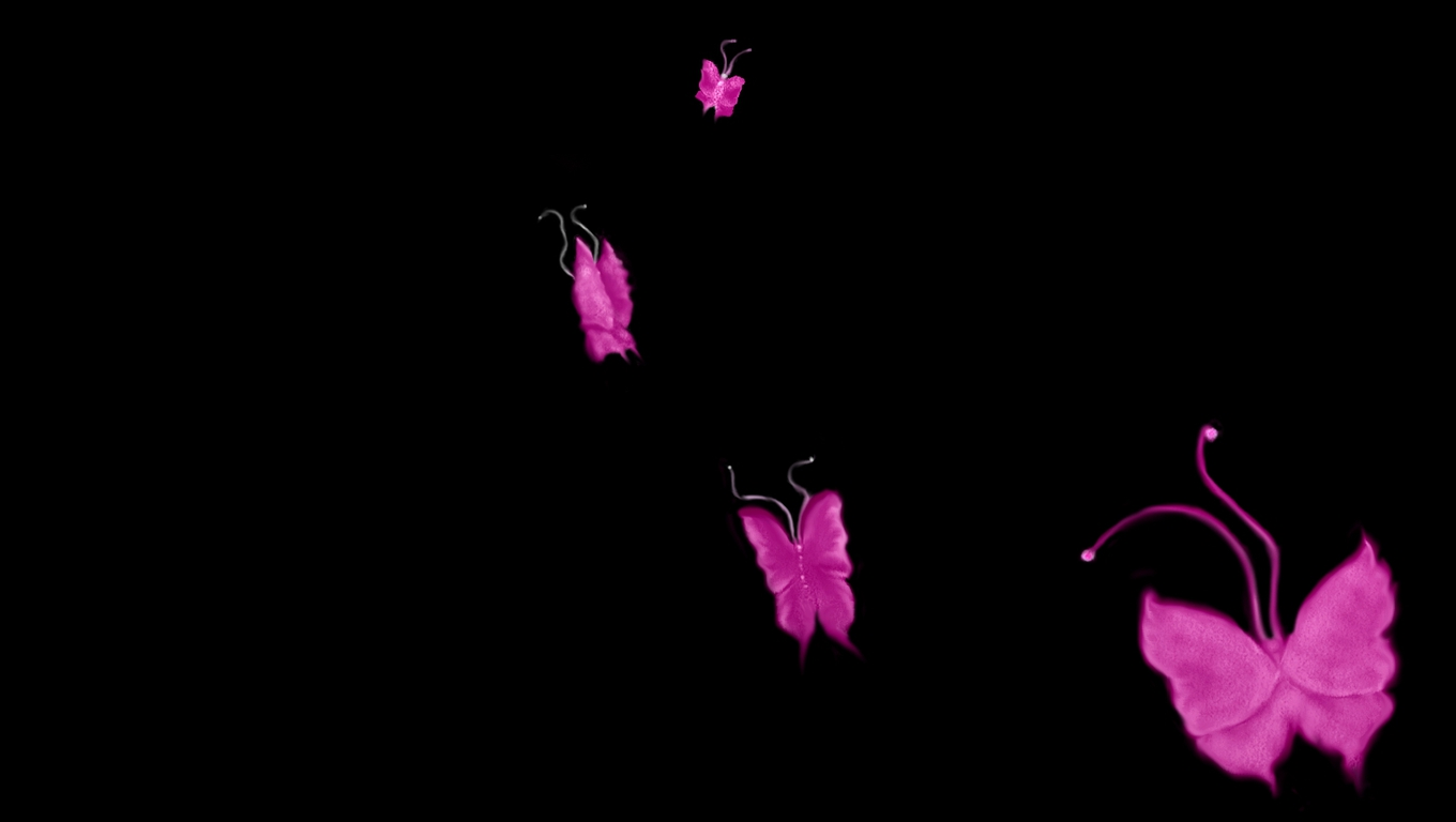 Pink And Black Wallpaper Desktop 1360x768