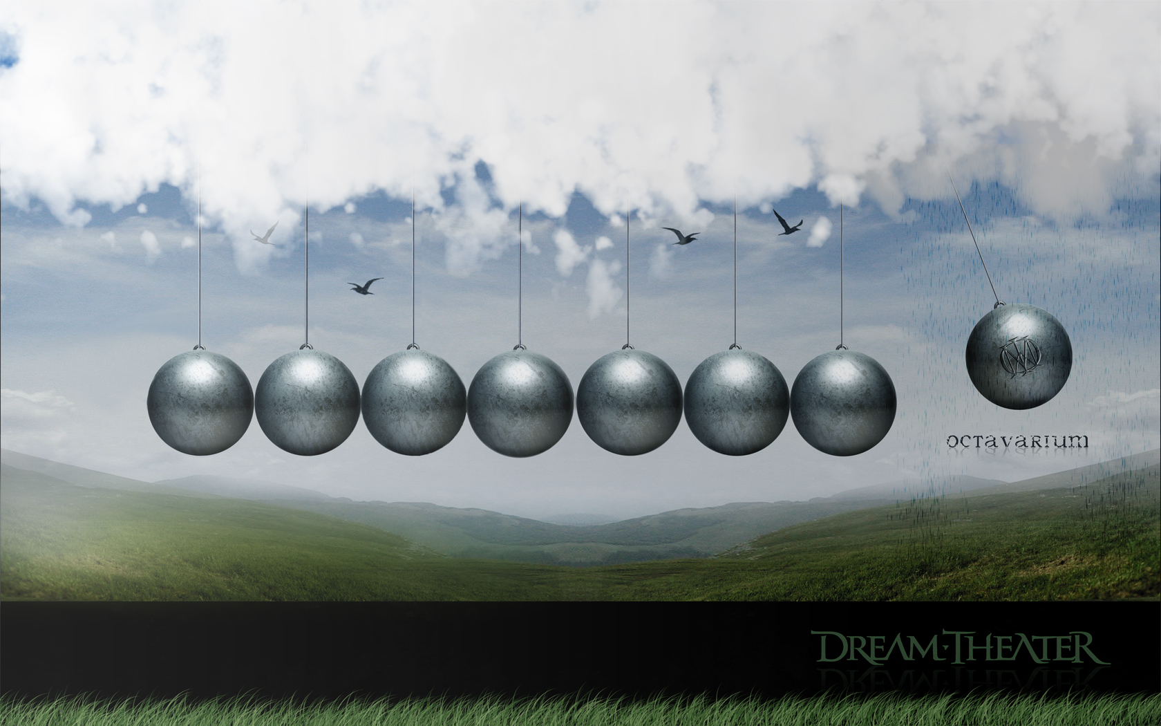 Dream Theater Wallpaper 1680x1050 Dream Theater Newtons Cradle 1680x1050