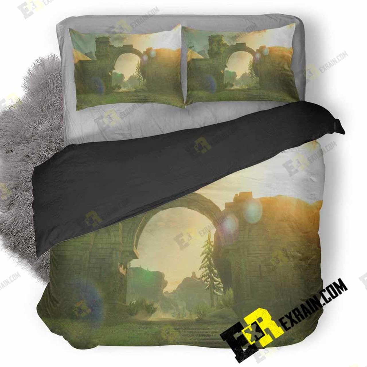 The Legend Of Zelda Background Lu 3D Customized Bedding Sets Duvet 1280x1280