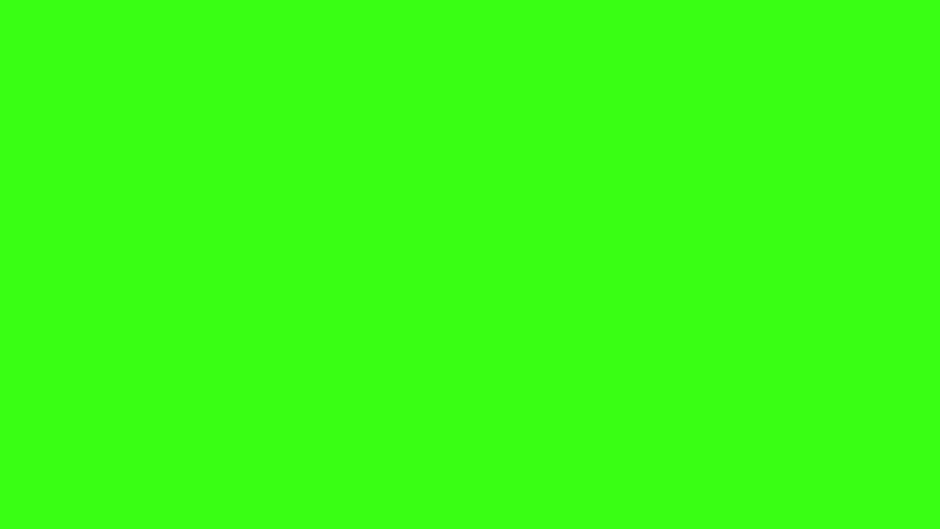 1366x768 resolution Neon Green solid color background view and 1366x768