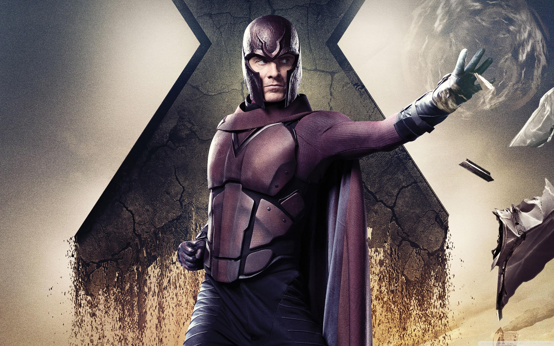 X Men Days of Future Past Magneto Ultra HD Desktop Background 2880x1800