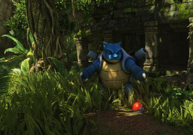 Videogame Photo of the Day – Blastoise Wallpaper Real Bad Ass