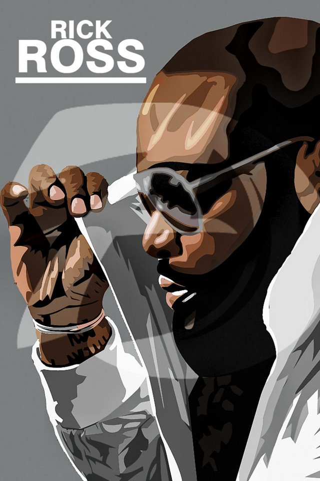 Rick Ross from category music and artists wallpapers for iPhone 640x960