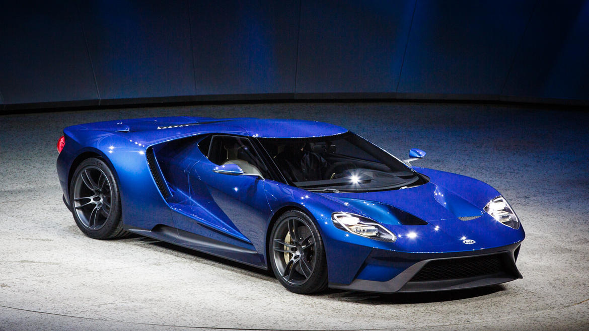 Show New FORD GT 2016 Photos Wallpapers 1170x658