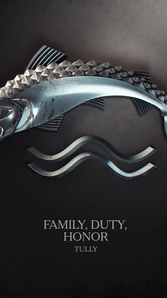 Game Of Thrones Tully Wallpaper   iPhone Wallpapers 576x1024
