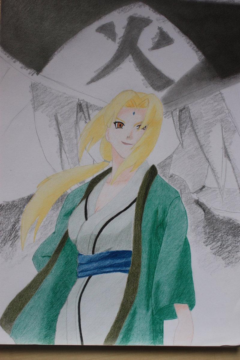 Lady Tsunade by Cerii1 800x1200
