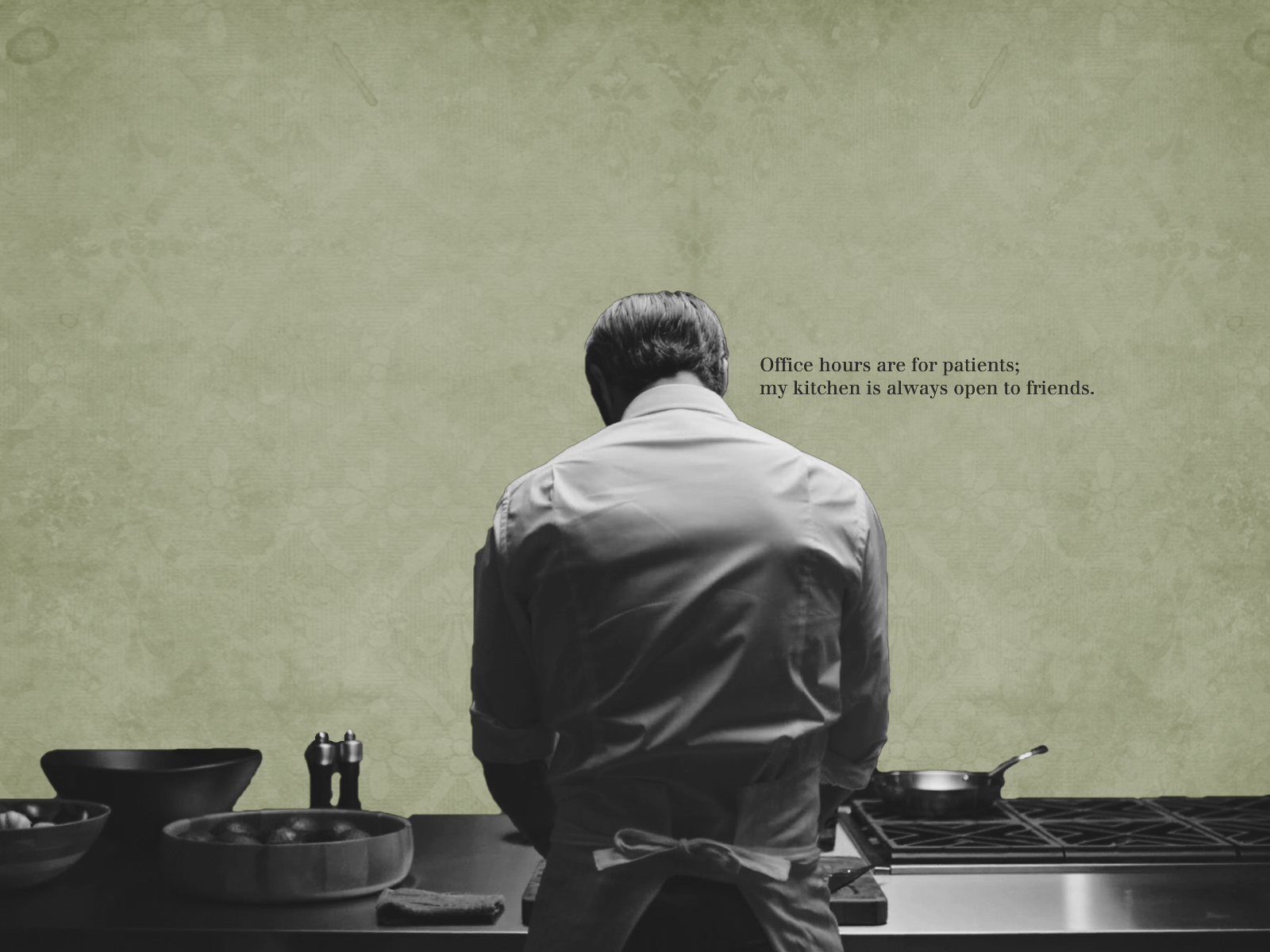 Hannibal Lecter   Hannibal TV Series Wallpaper 34399059 1600x1200