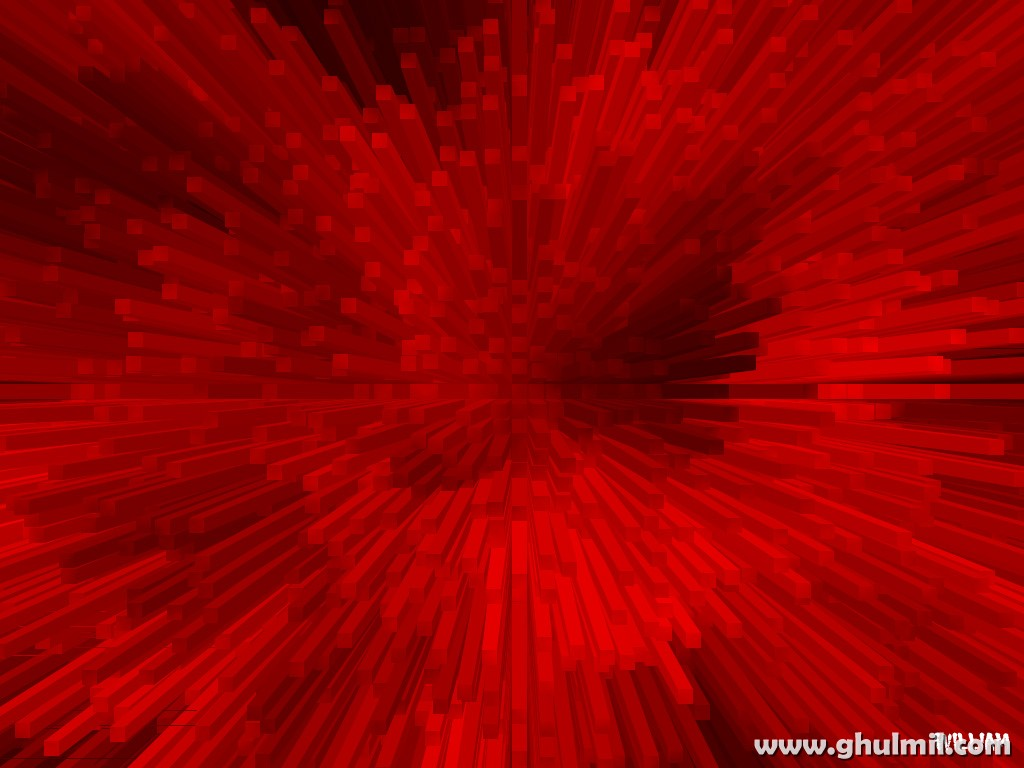 Beautiful Red Vertical 3D Bars Wallpaper Desktops Background E 1024x768
