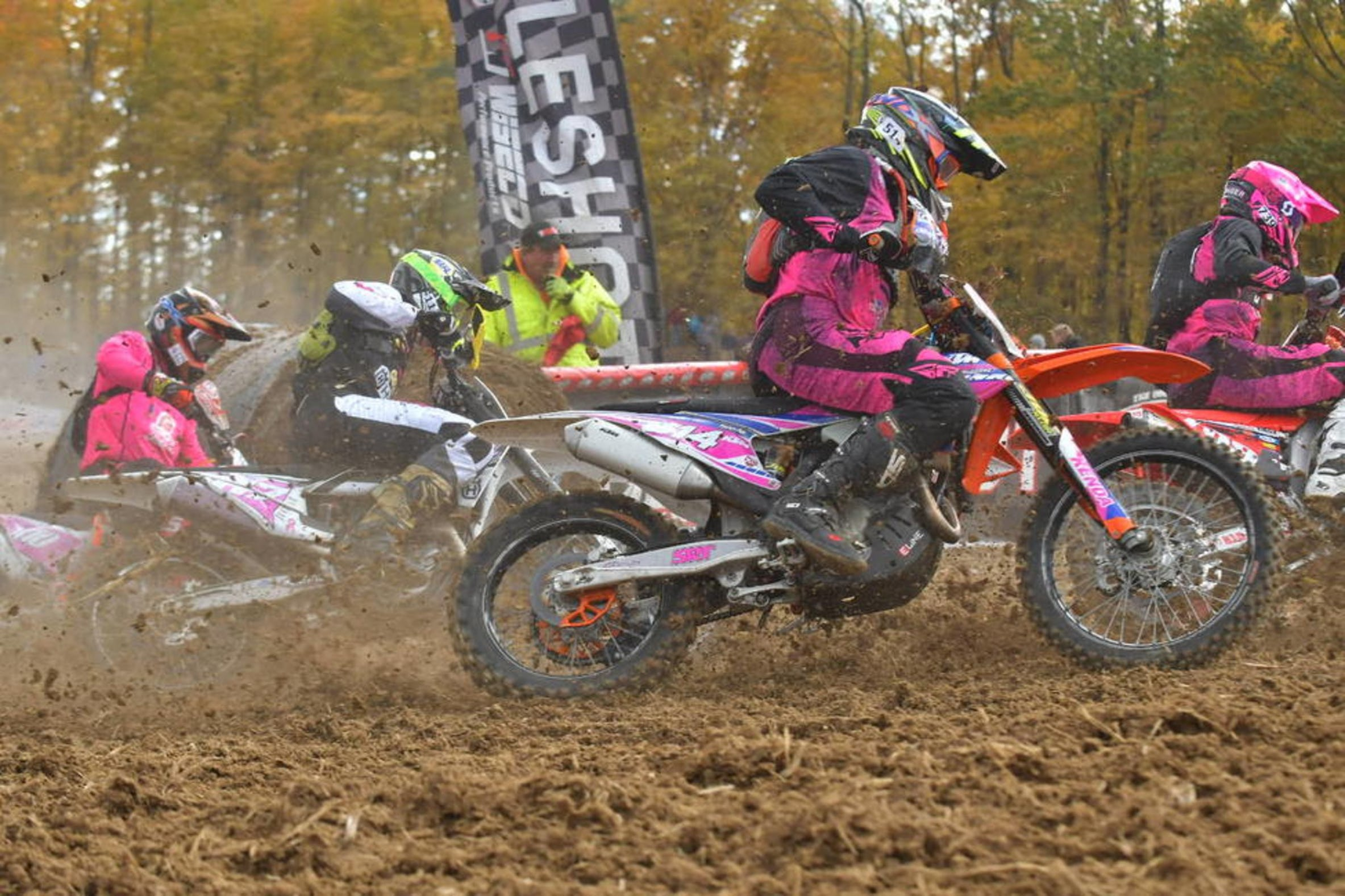 GNCC Goes Pink in Honor of Breast Cancer Awareness Month   GNCC 2367x1578