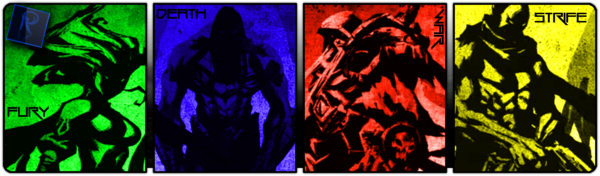 Darksiders The 4 Horsemen signature by PowerMetalFedello on 600x176