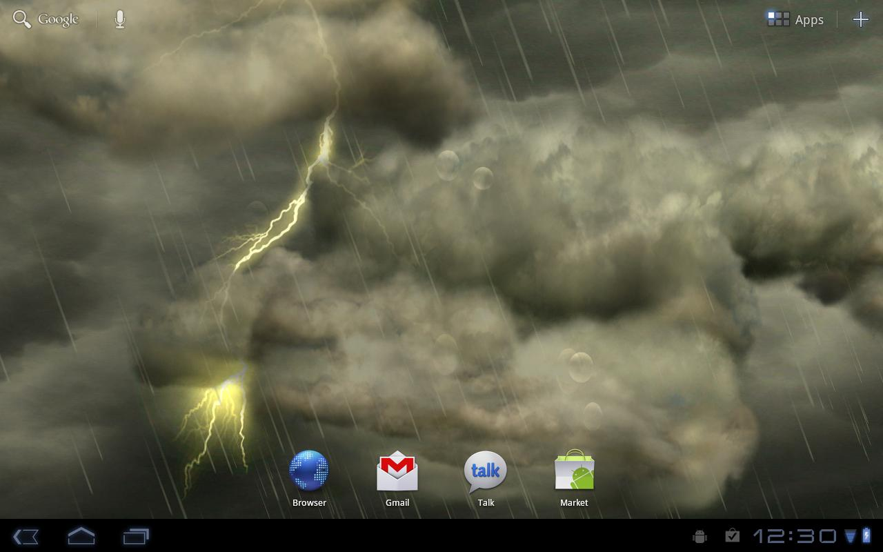 Thunderstorm Wallpaper   Android Apps on Google Play 1280x800