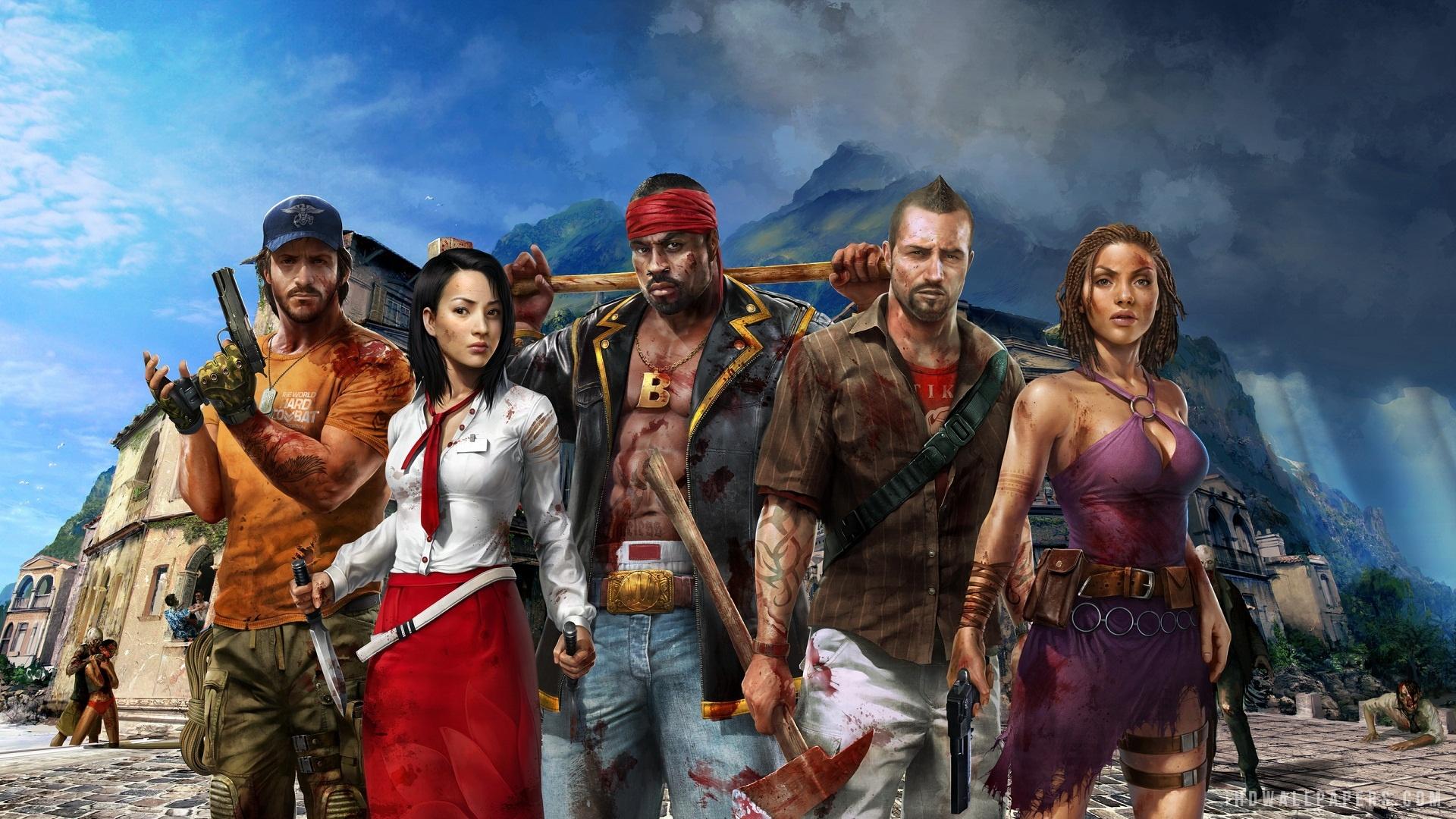 Dead Island Riptide Video Game HD Wallpaper - iHD Wallpapers