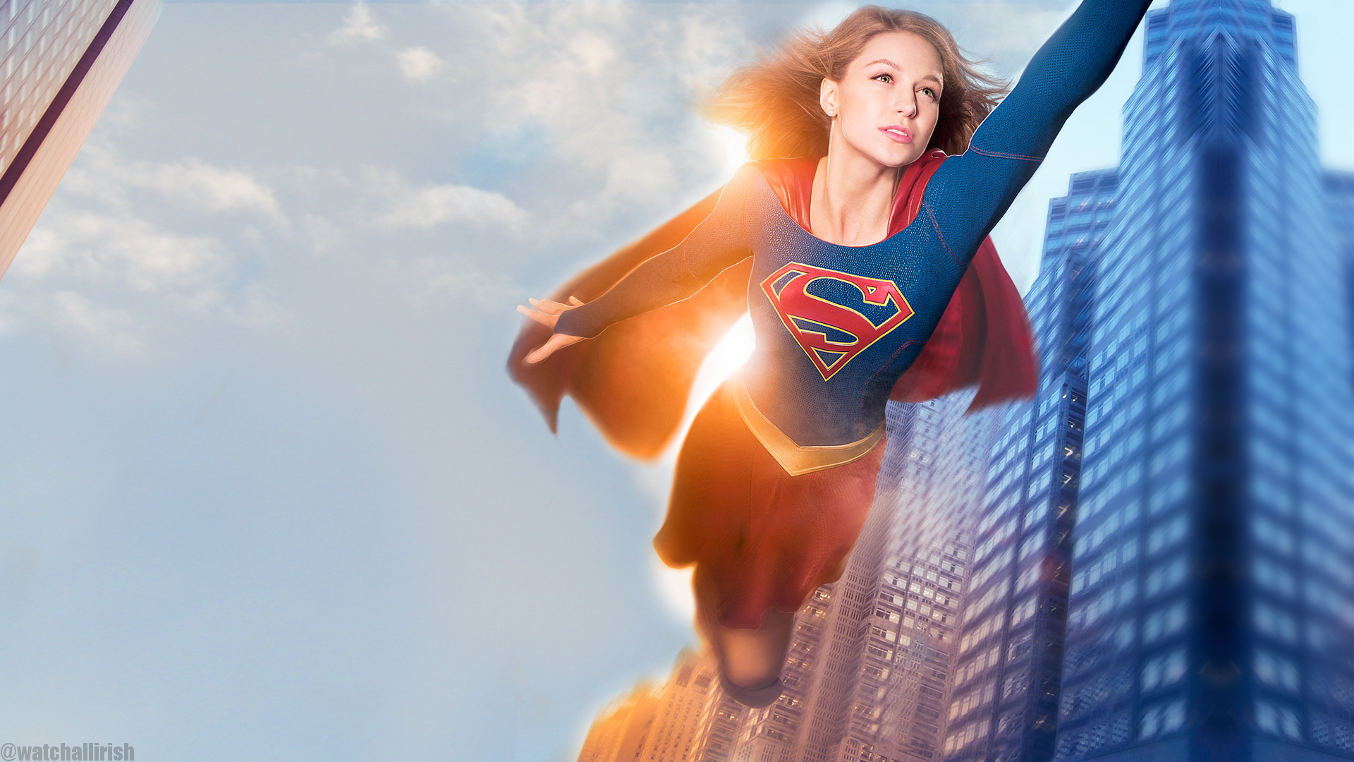 supergirl wallpaper 1920x1080