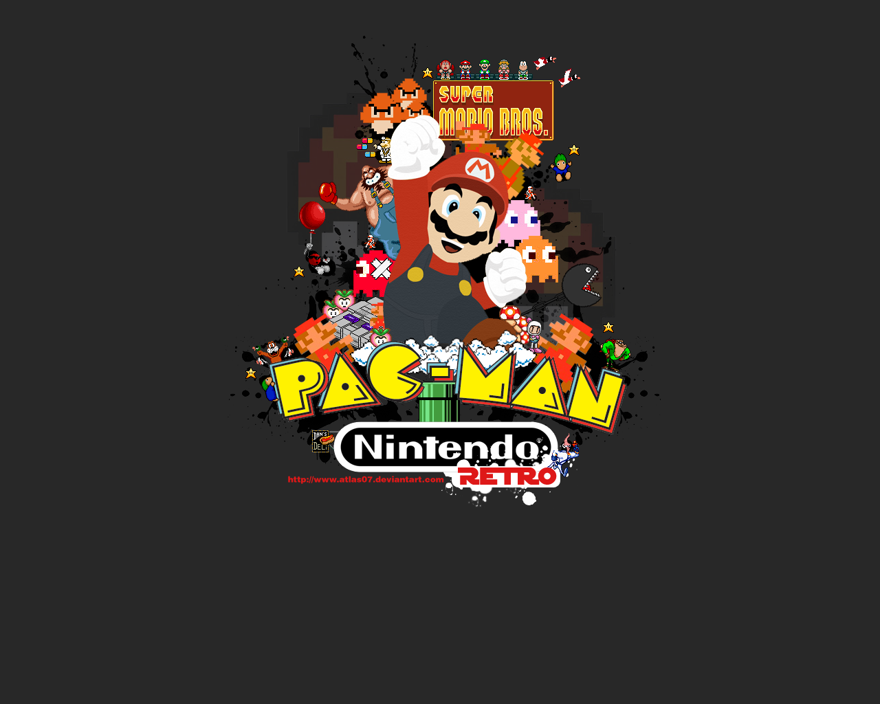 49 Retro Gaming Wallpaper On Wallpapersafari
