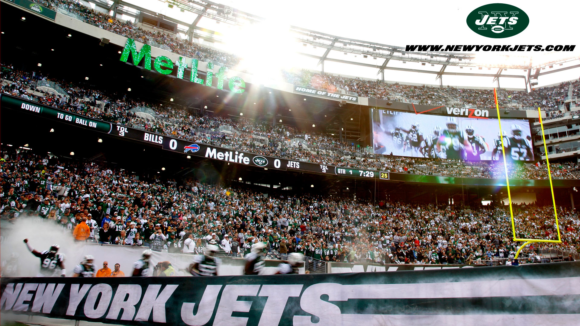 New York Jets Stadium Wallpaper Desktop Hd Backgrounds Hd Screensavers 1920x1080