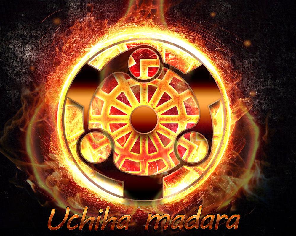 Uchiha Madara sharingan by ANVMADARA 999x799