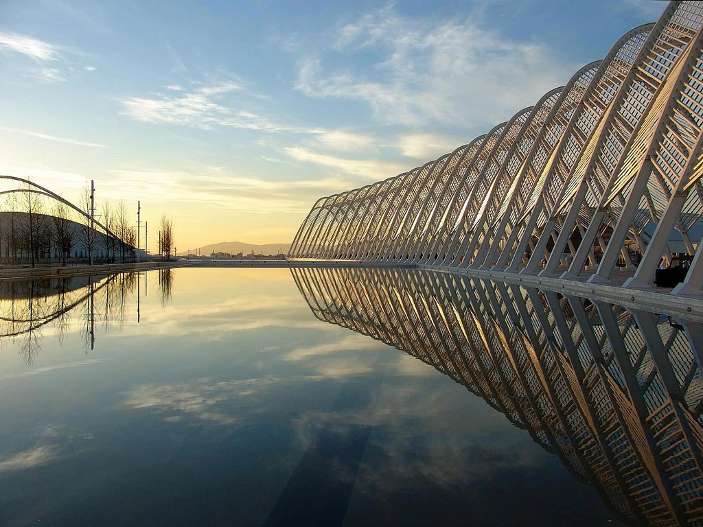 Contemporary Architecture Photography Hd Singapore Wallpaper