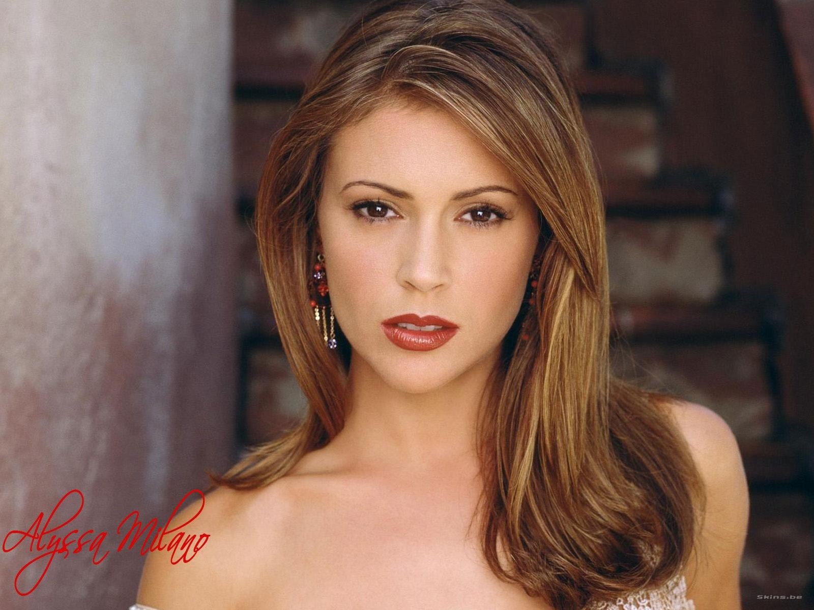 Maxim Alyssa Milano HD Desktop Wallpaper HD Desktop Wallpaper 1600x1200