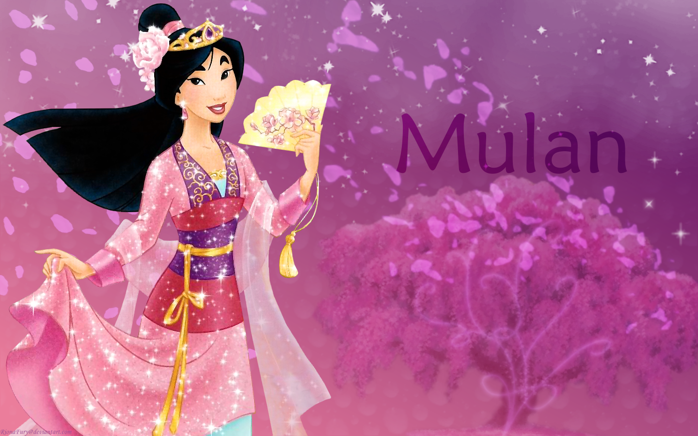 Mulan   Disney Princess Mulan Wallpaper 33894127 1440x900