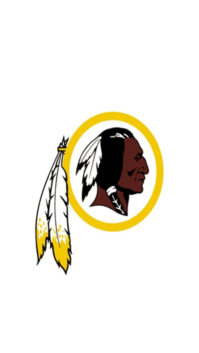Washington Redskins White Logo Sports iPhone Wallpapers iPhone 5s4 640x1136