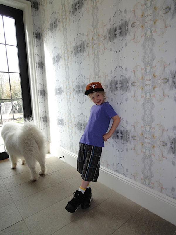 New Eskayel wallpaper installation pictures   ESKAYEL 600x800