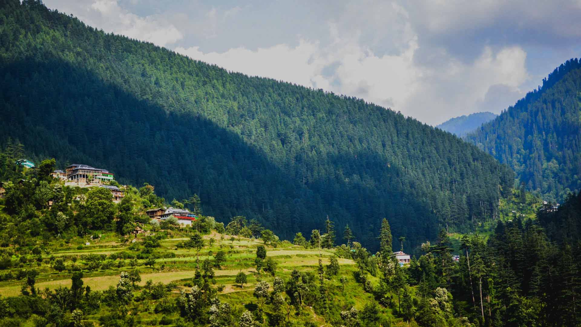 Himachal Pradesh Unexplored Himachal Tirthan Valley   Om Shanti 1920x1080