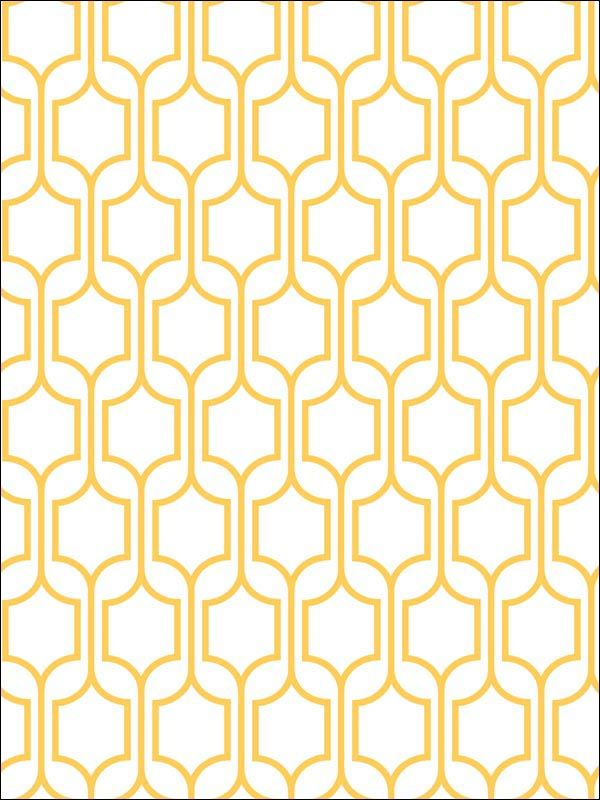 trellis geometric wallpaper yellow graphic print wallpaper 600x800