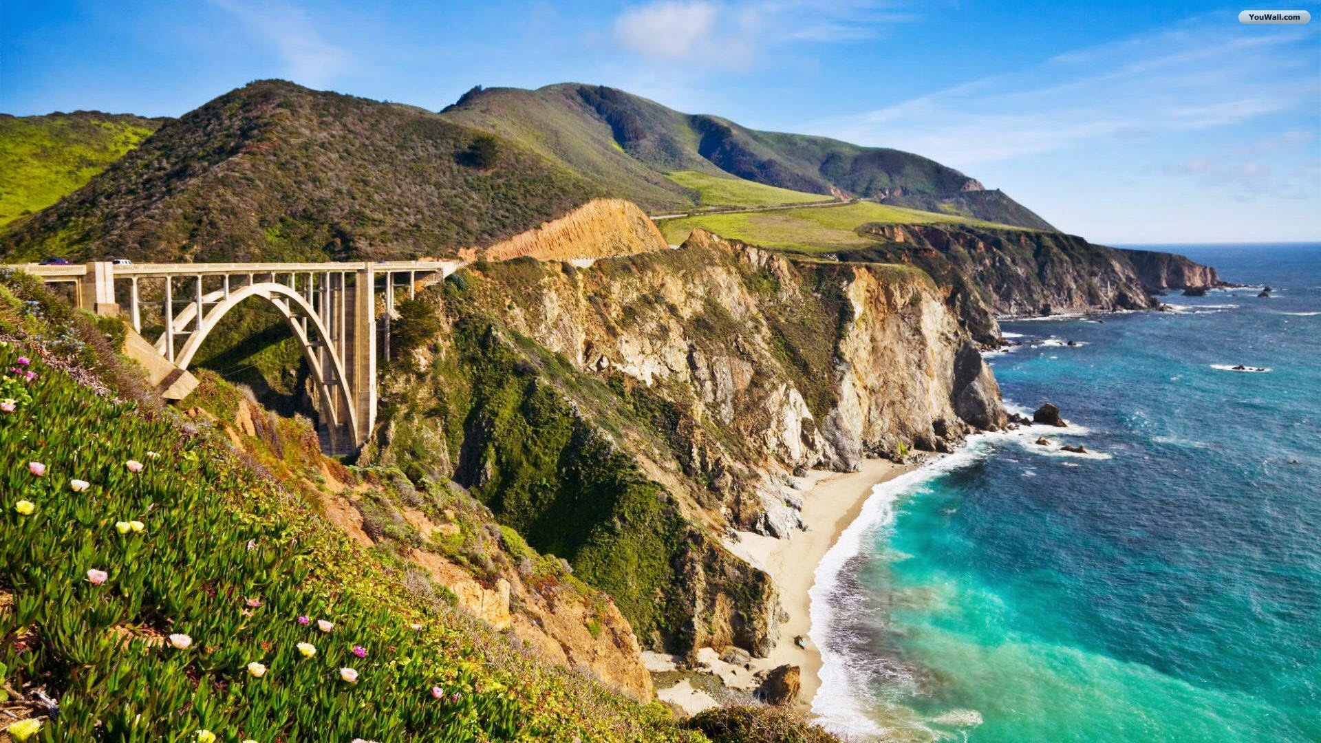 California coast wallpaper wallpapersafari - Code de reduction maison du monde ...