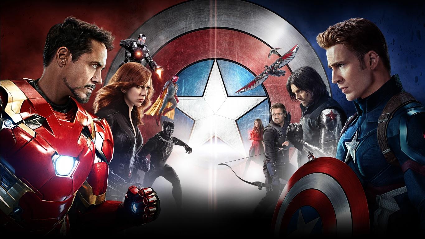 Captain America Civil War 5K HD Wallpapers HD Wallpapers 1366x768
