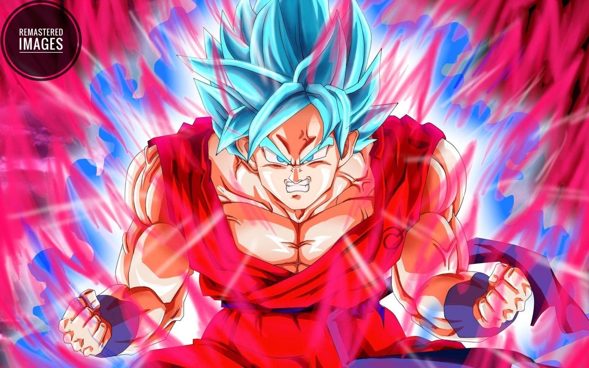 Goku ssj Blue Kaioken Super saiyan blue kaioken Goku super 1920x1200