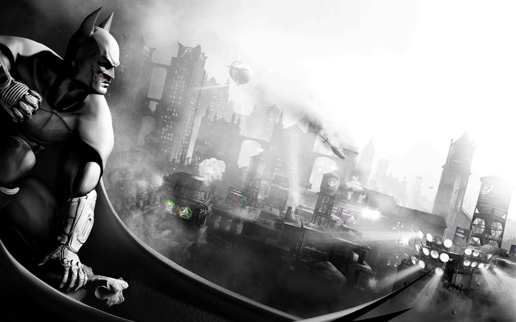For a real Windows 7 Batman theme check this out 1680x1050