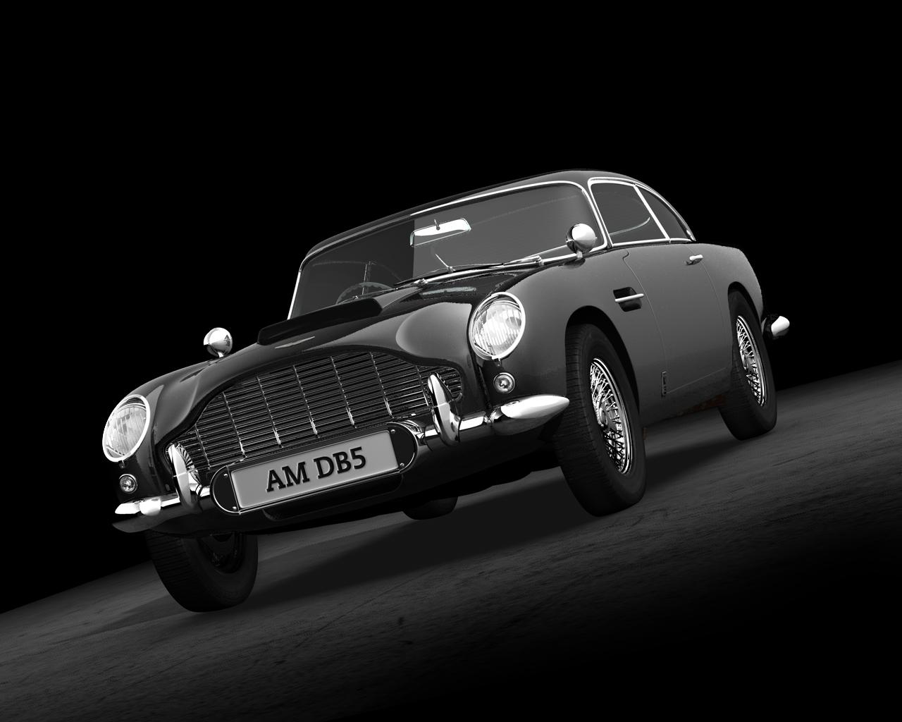 Aston Martin DB5 II by Vacuita Wallpapers 1280x1024