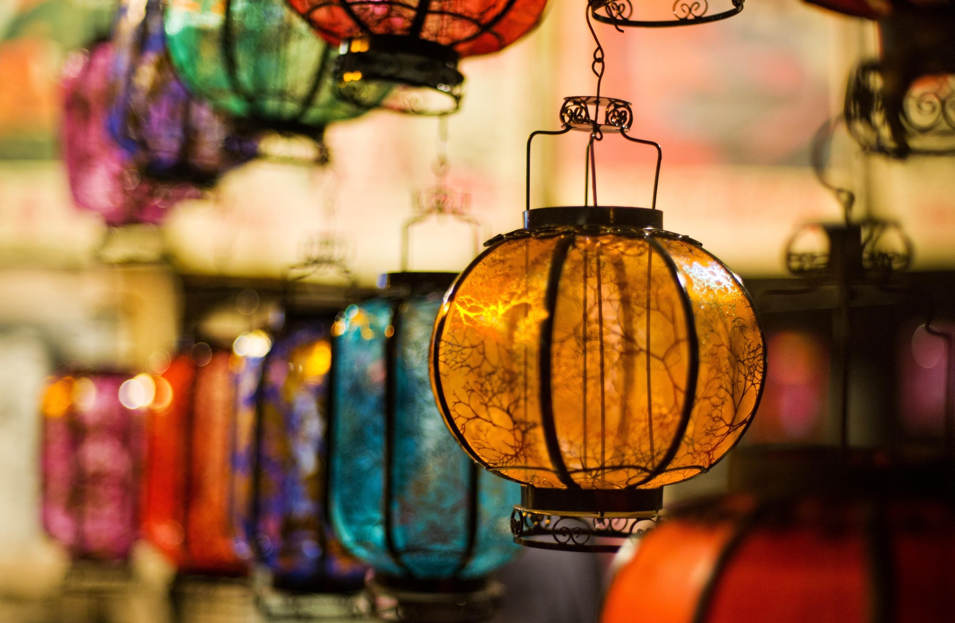 Man Made   Lantern Wallpaper 3717x2424