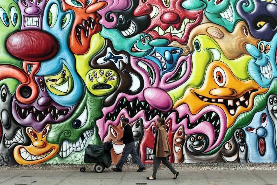 Cool Graffiti Art Backgrounds Graffiti nyc rafacine art 959x639