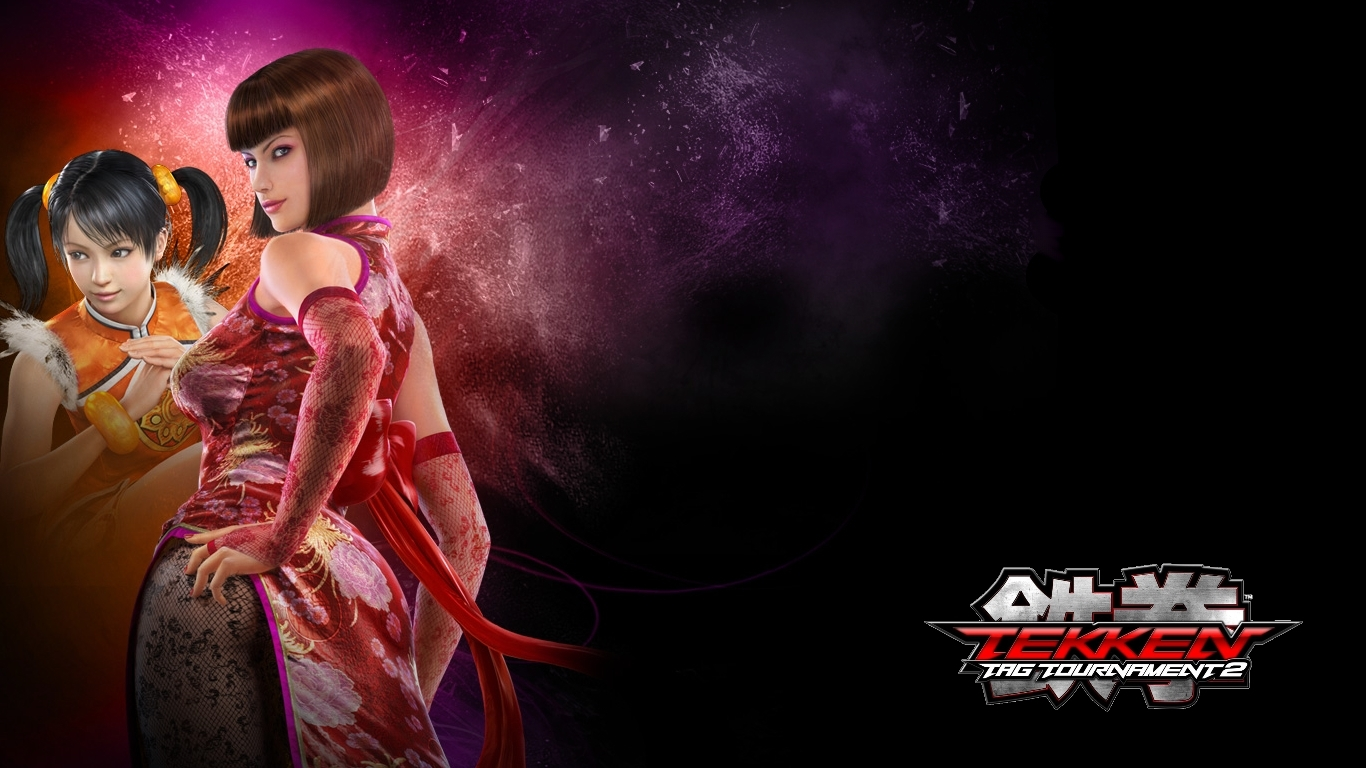 Anna Williams Tekken Tag Tournament 2 Wallpaper 1366x768