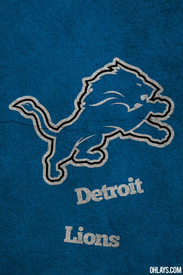 Detroit Lions iPhone Wallpaper 5609 ohLays 640x960