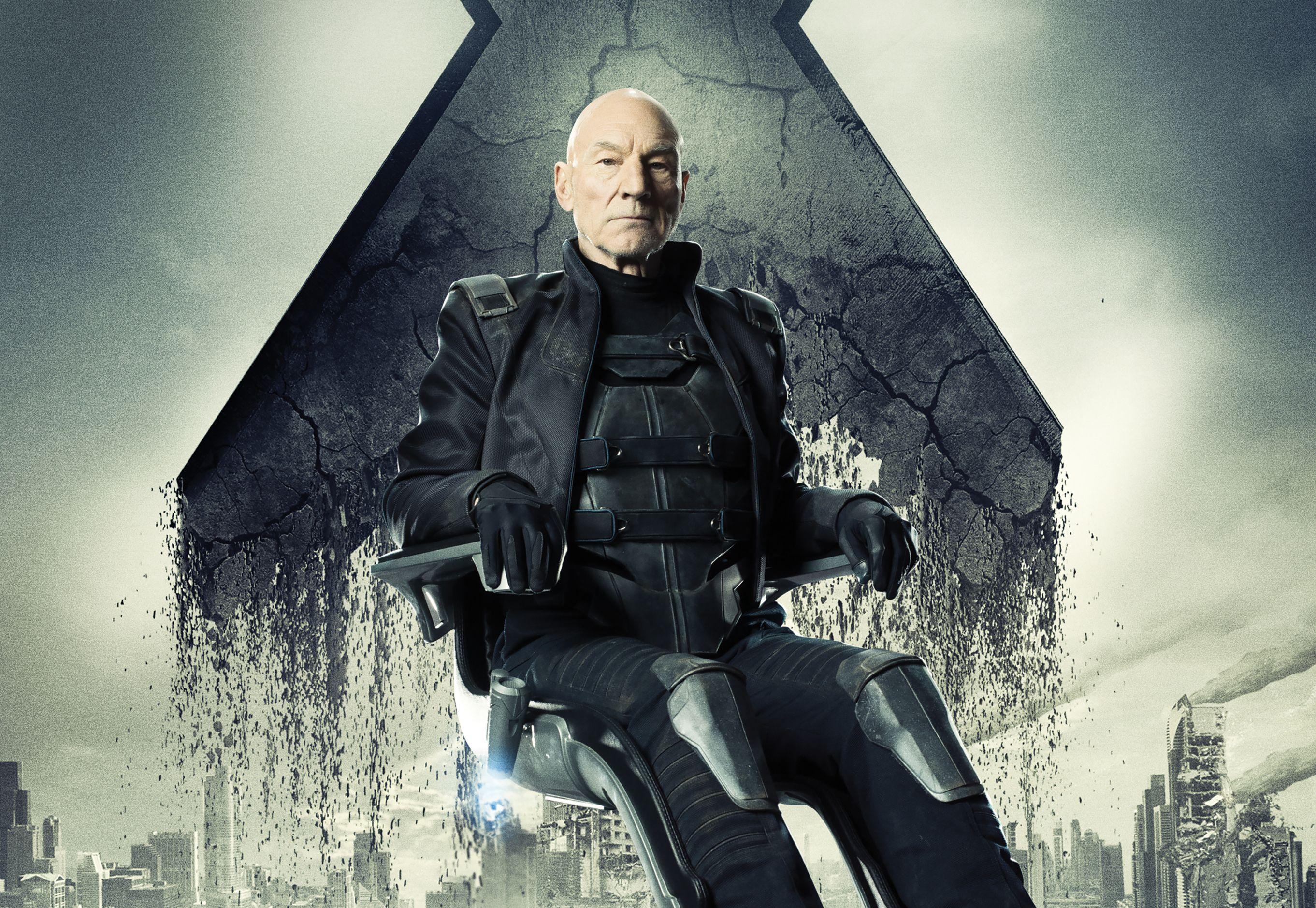 X Men Days Of Future Past Old Charles Xavier Professor X Wallpaper 2723x1878