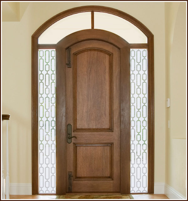 Film Semi Private for Sidelights Glass Doors Windows Wallpaper 600x643