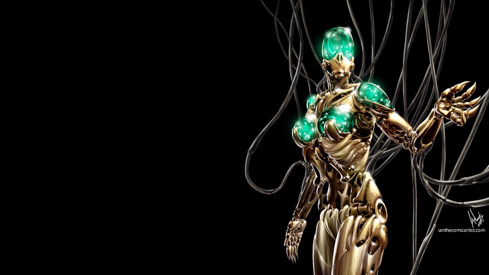 wallpaper cyberpunk metropolis robots - photo #14