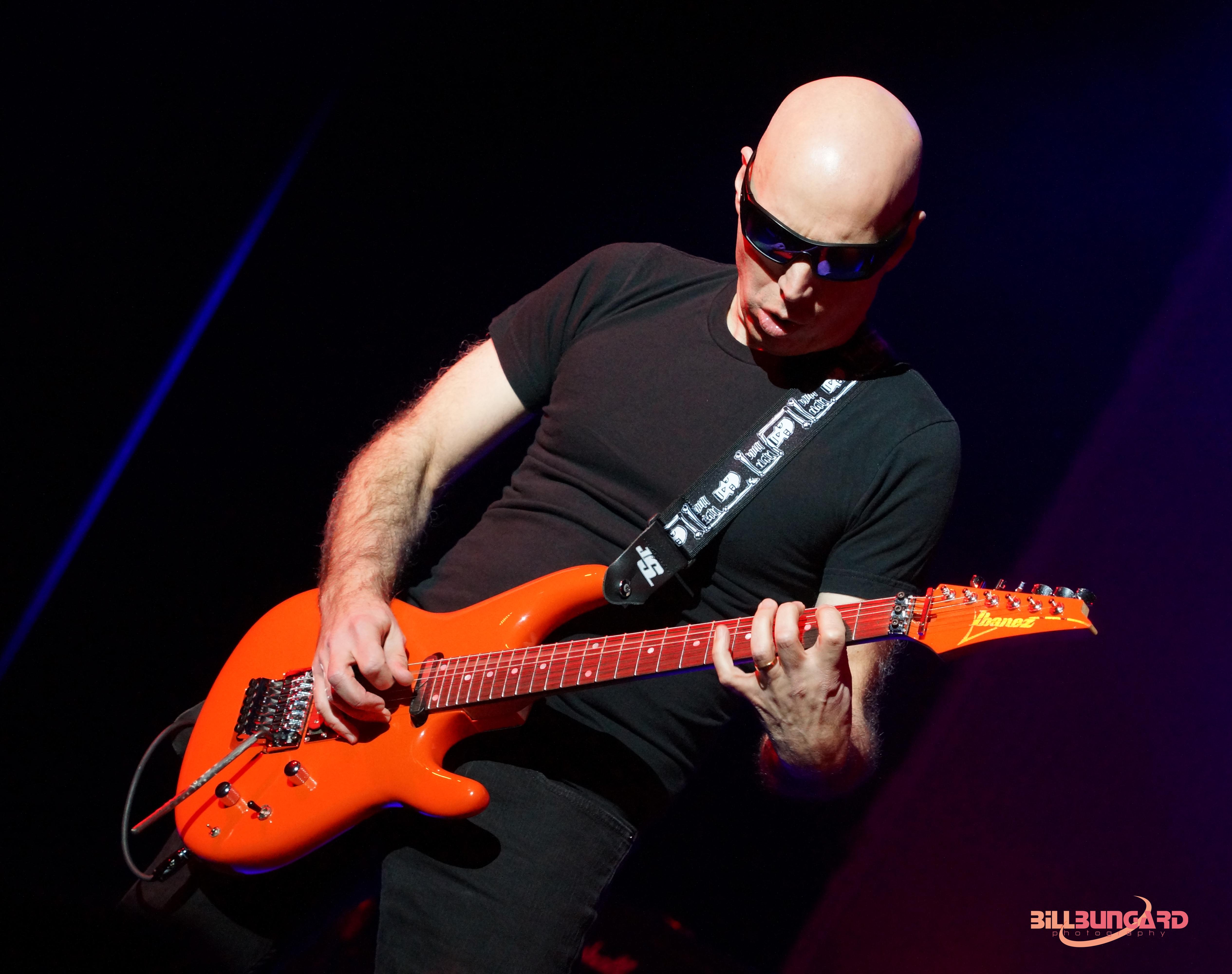 look back at Joe Satriani and Living Colour at The Paramount Photos 5060x4000