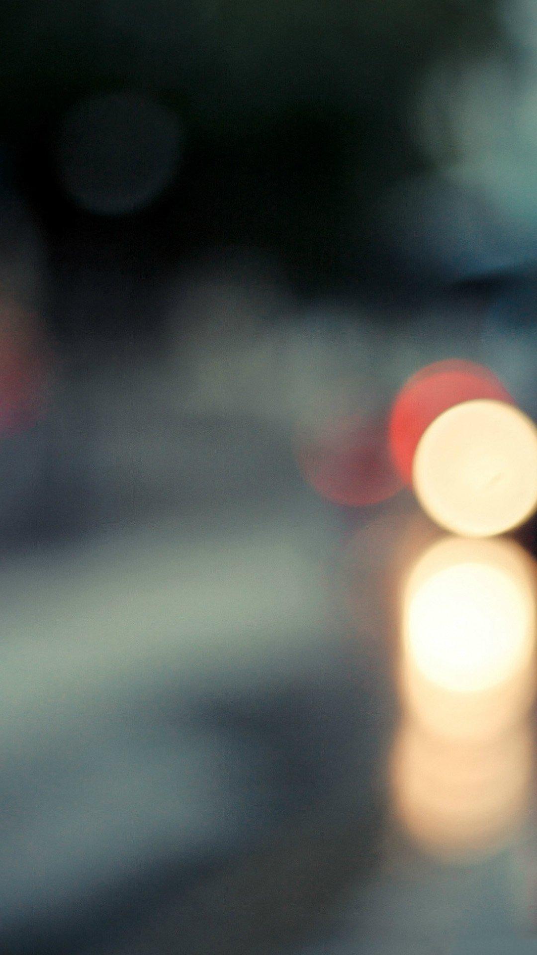 Traffic Stop Lights Blur iphone 6 wallpaper ilikewallpaper com 1080x1920