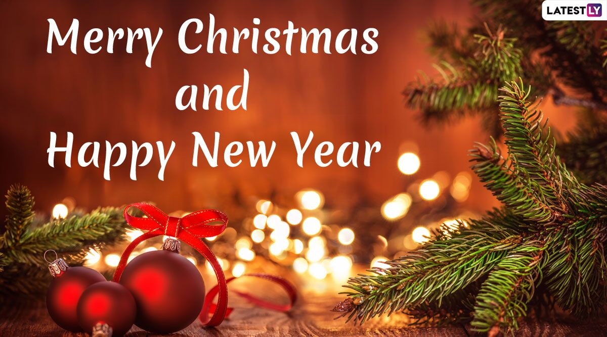 download Merry Christmas and Happy New Year 2020 Wishes in 1200x667