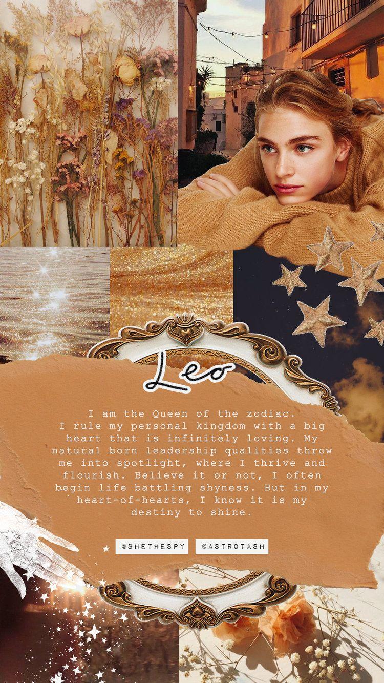 Wallpapers SHE THE SPY in 2020 Leo Astrology Zodiac art 750x1333