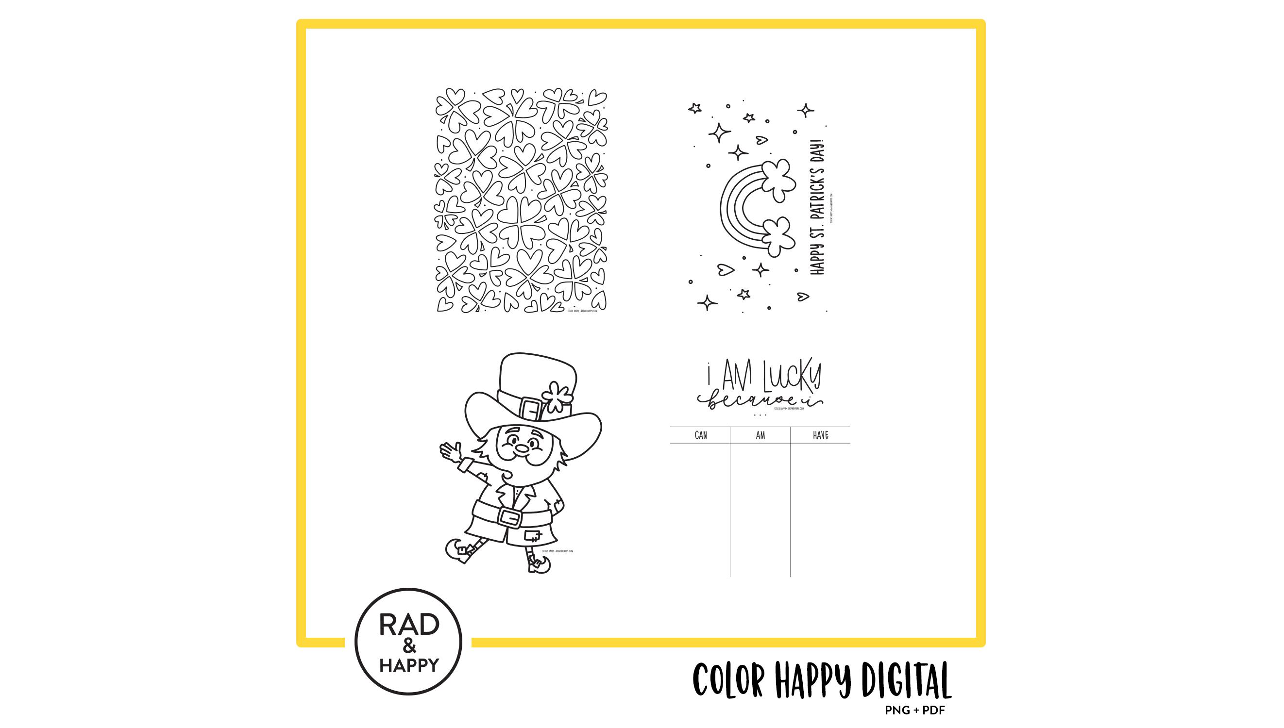 Color Happy   RAD HAPPY 2644x1500