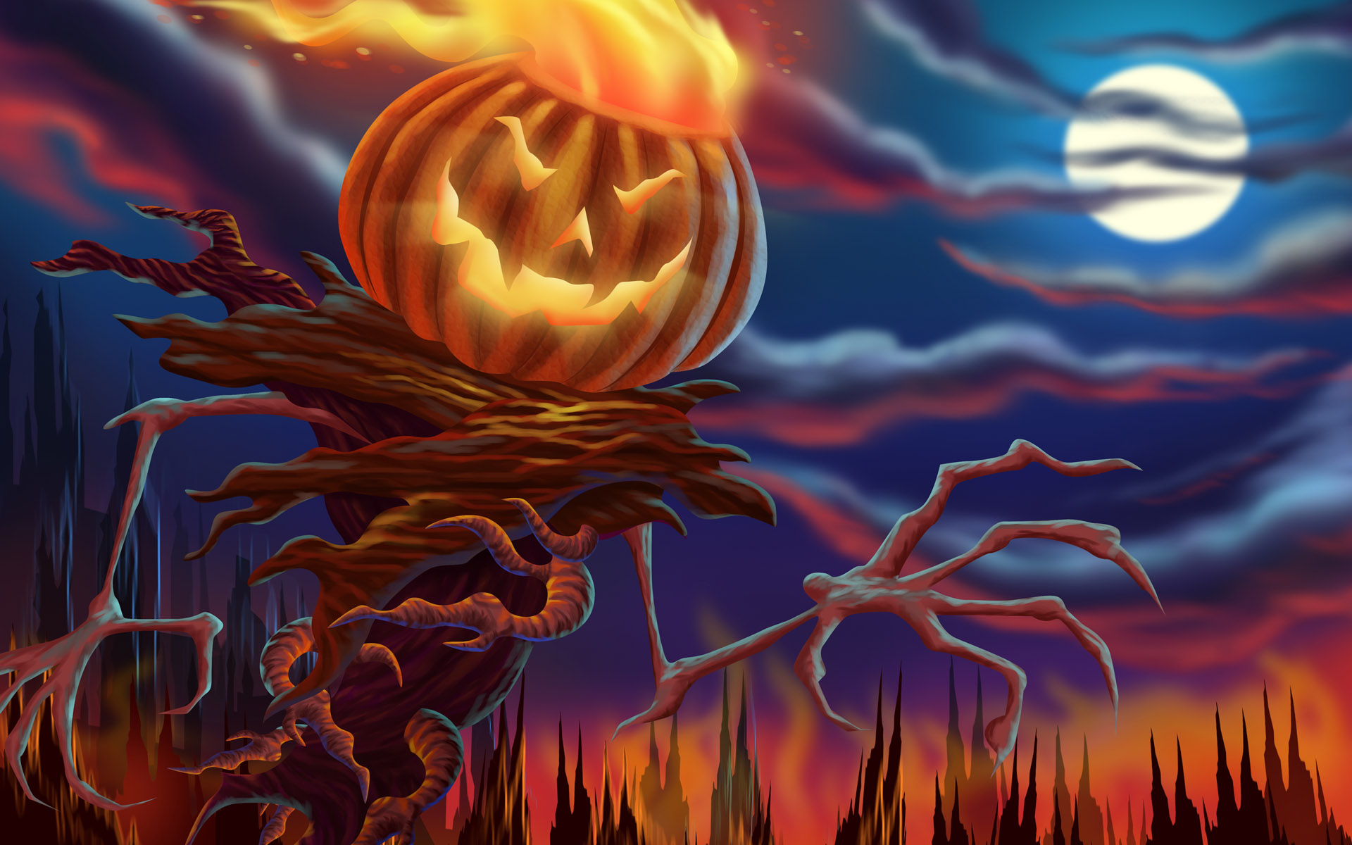 Cool Halloween Wallpapers 1920x1200