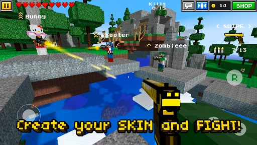 Download Pixel Gun 3D PRO Minecraft Ed for Android by Jasmine L 512x288