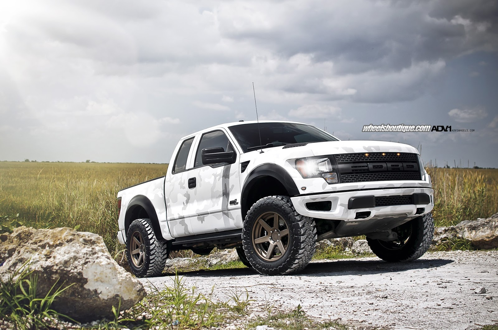 HD Wallpapers Desktop Wallpapers 1080p Arctic Camo Ford Raptor 1600x1062